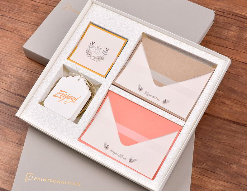 Printsonalities paper creations wedding invitations meaningful gift giving with printsonalities paperie stopboris Images
