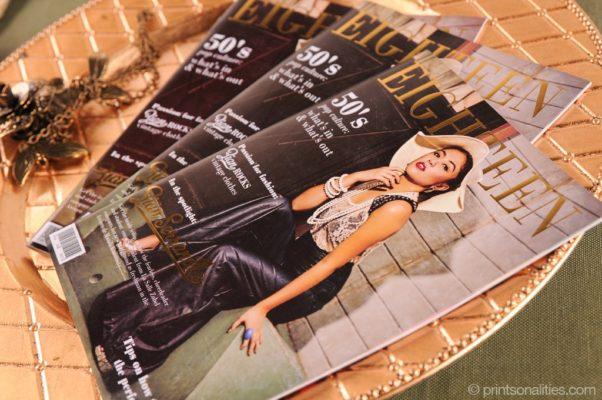 Magazine Debut Invitation by Printsonalities