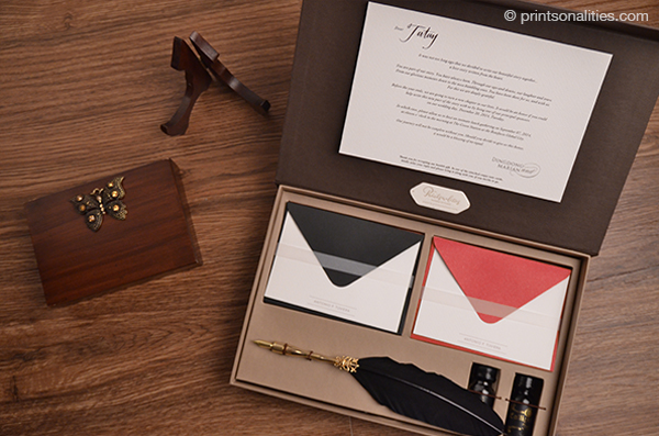 Printsonalities paper creations wedding invitations the dongyan diaries the principal sponsor invitation stopboris Image collections